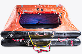 ALL TYPES AND CAPACITY AUTOINFLATABLE LIFERAFTS IMO AND SOLAS APPROVED.