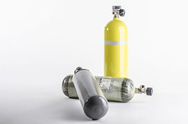 SELF CONTAINED BREATHING APPARATUS, COMPRESSED AIR CYLINDERS, EMERGENCY ESCAPE BREATHING DEVICES (EEBD), MEDICAL OXYGEN CYLINDERS AND REGULATORS.